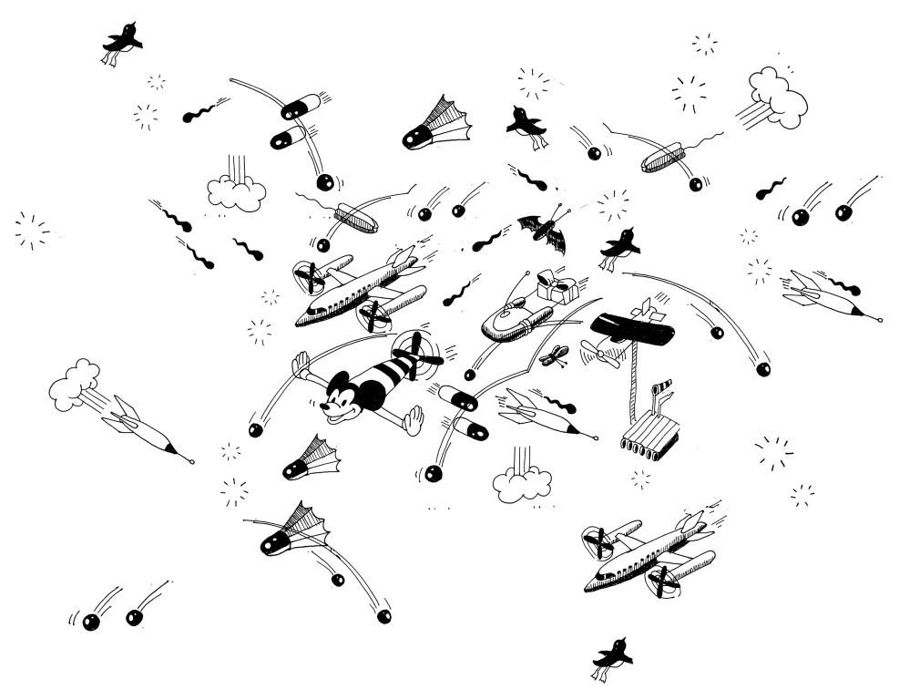 flying objects big (Medium)