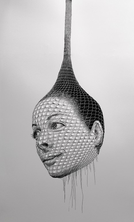 Self portrait as an onion