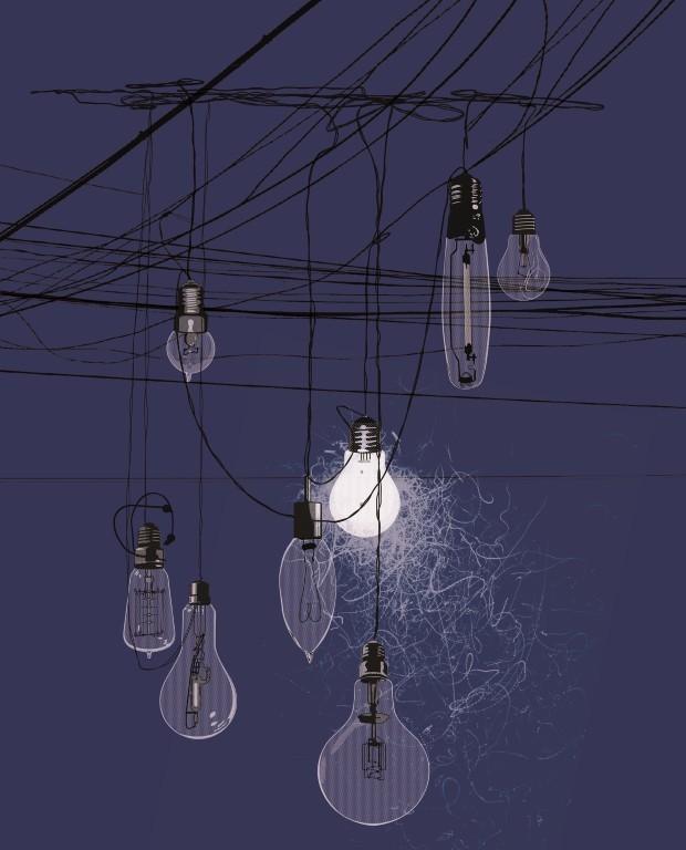 light bulb2 layers (Medium)